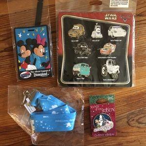 Disney cars pin lot